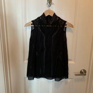 Nanette Leapore Black top size 2